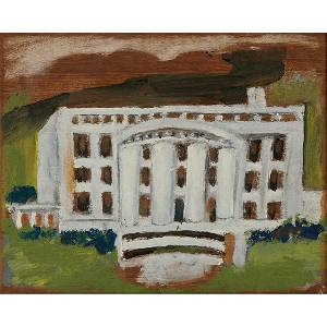 Jimmy Lee Sudduth, The White House, 1980