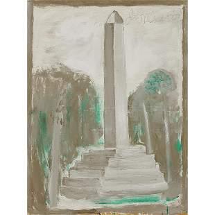 Jimmy Lee Sudduth, Washington Monument, 1991