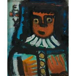 Eddy Mumma, Two Portraits (double-sided)