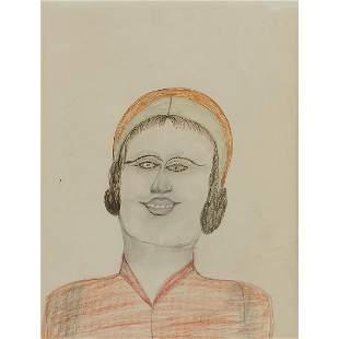 S.L. (Shields Landon) Jones, Female Portrait