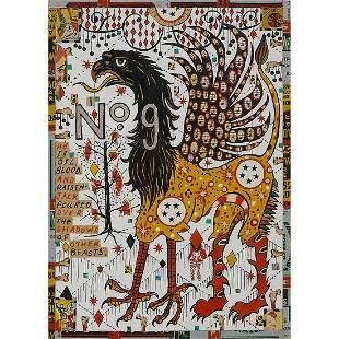 Tony Fitzpatrick, The Oil Beast, 2010