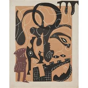 George Colin, Figurative Collage, 1978