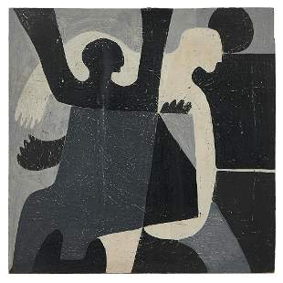 George Colin, Figures in Black, White and Gray