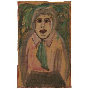 Sybil Gibson, Female Figure with Tie, 1974