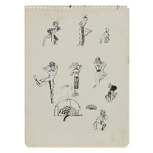 St. EOM (Eddie Owens Martin), Sketchbook Drawing