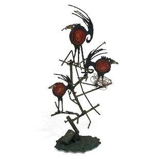 James Anthony Bearden, Red Bird sculpture