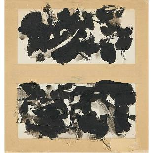 Fred Mitchell, Untitled Diptych, circa 1956