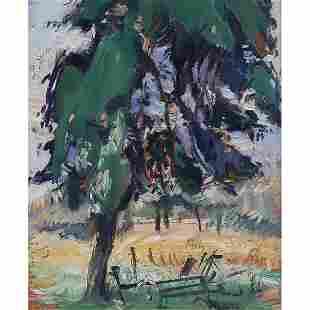 Jean Helion, A Shade Tree, 1964