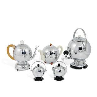 Manning Bowman / Art Deco coffee and tea service