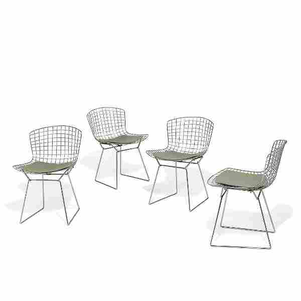 Harry Bertoia for Knoll dining chairs