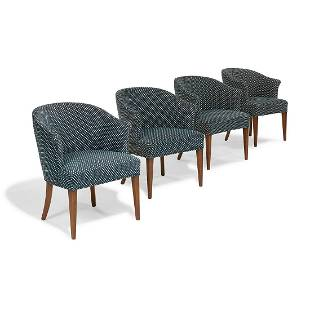 Edward Wormley for Dunbar armchairs