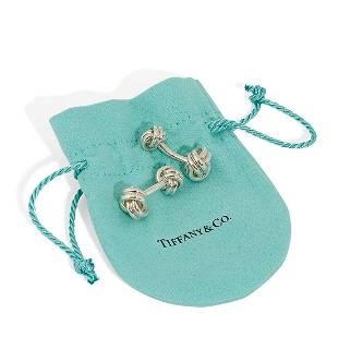 Tiffany & Co. knot cufflinks