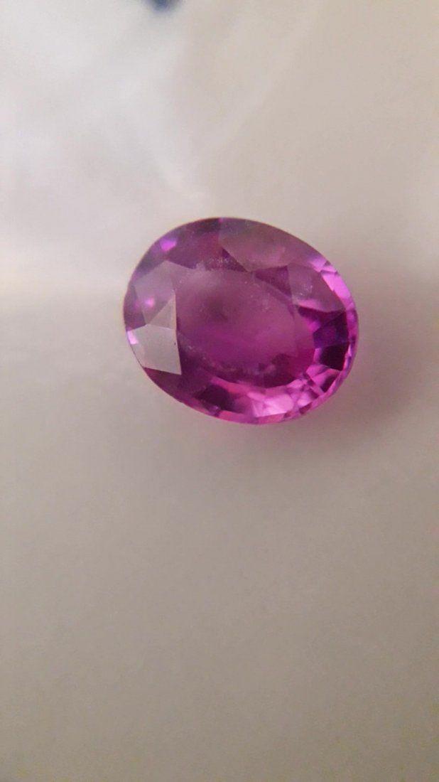 Hot Pink Sapphire, Ceylon, loose 1.055ct.| IGL