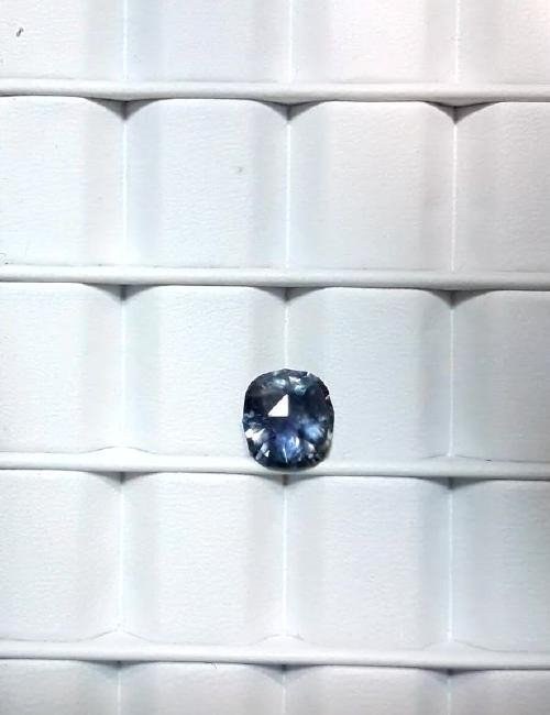 Untreat 3.08ct Natural green-blue Ceyl Sapphire| GIA