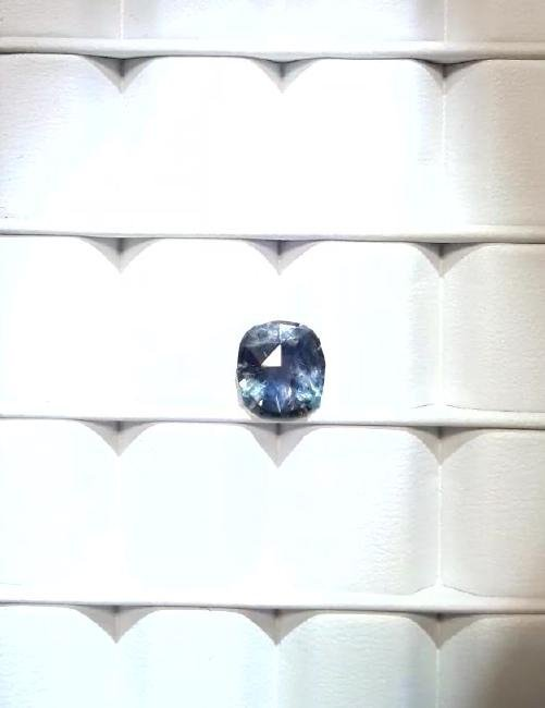 Untreat 3.08ct Natural green-blue Ceyl Sapphire| GIA - 3