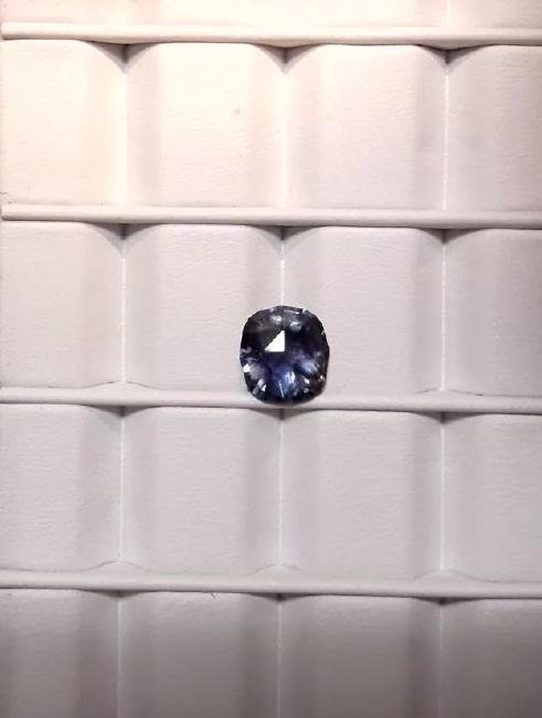 Untreat 3.08ct Natural green-blue Ceyl Sapphire| GIA - 6