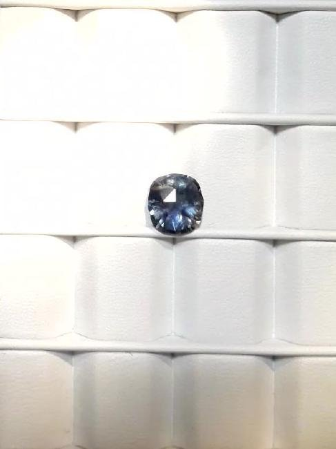 Untreat 3.08ct Natural green-blue Ceyl Sapphire| GIA - 7
