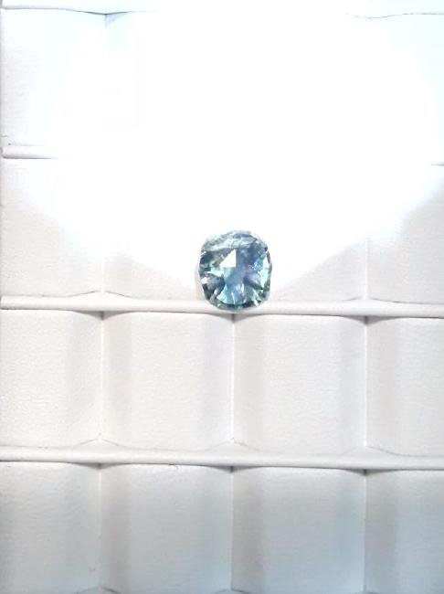 Untreat 3.08ct Natural green-blue Ceyl Sapphire| GIA - 9
