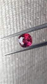Blood Red Ruby, untreated, loose | IGL 0.936ct