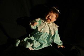 "5: ""My First Tooth"" Ashton Drake porcelain doll"