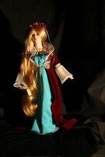 6: Rapunzel doll