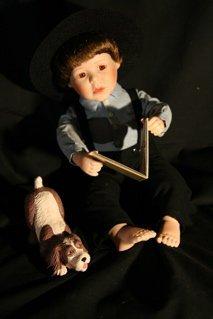 """7: Amish """"Joshua"""" Doll"""