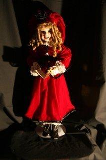"9: ""Joy"" Christmas doll"