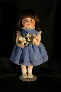 """12: """"For You"""" flower doll"""