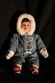 "13: Winter Wonderland ""Bobby"" doll"