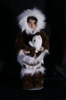 "17: ""Tulu"" Eskimo doll"