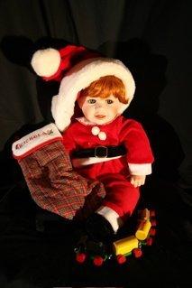 """22: """"Nicholas"""" Christmas doll"""