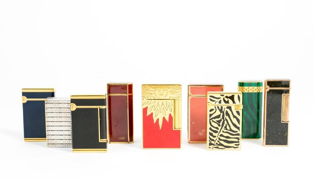 S.T. Dupont, Cartier und Dunhill Feuerzeug