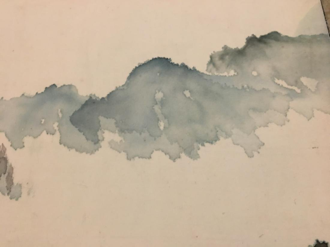 Ink and colour on paper; signed Yang Nian-Yao - 5