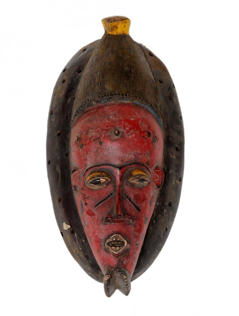 Baoulé mask