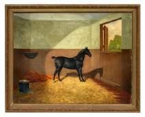 James Clark (British, 1858-1943) Oil on canvas