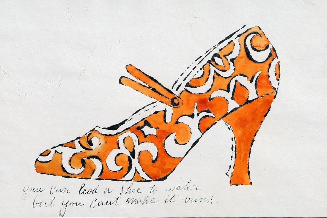 After Andy Warhol - Shoe - 2