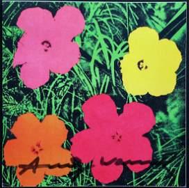 Flower Invitation - After Andy Warhol Castille