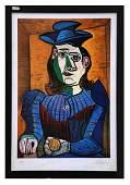 (after) Pablo Picasso Dora Maar (Femme Assise)