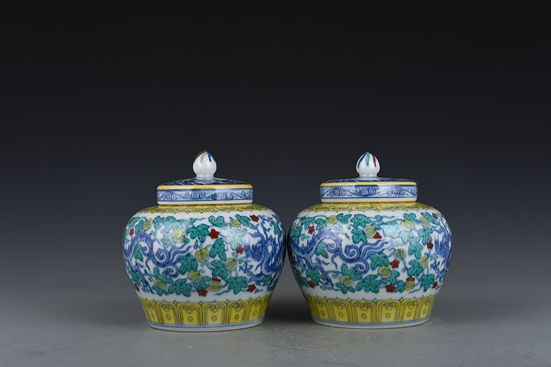 Chinese Ming Dynasty Period Porcelain Pot - 8