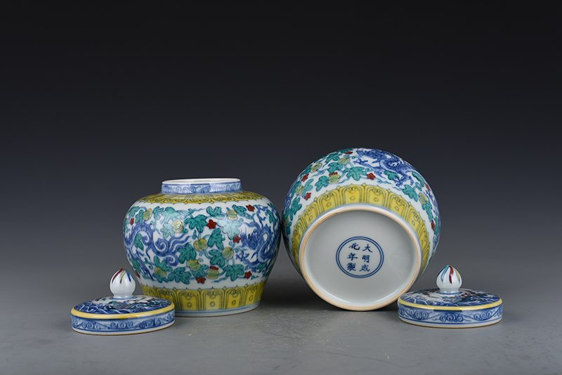 Chinese Ming Dynasty Period Porcelain Pot - 9