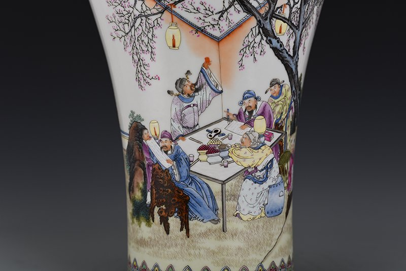Chinese Qing Dynasty Period Porcelain Vase - 2