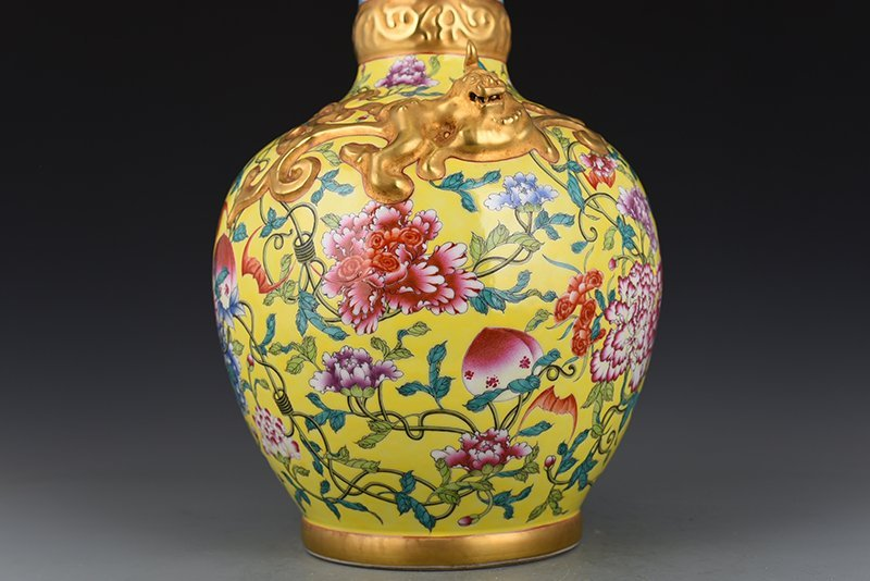 Chinese Qing Dynasty Period Porcelain Vase - 5