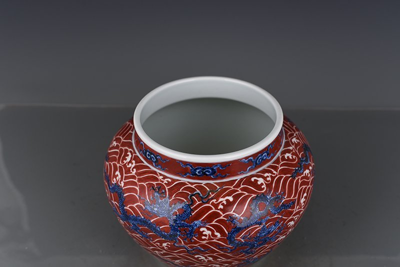 Chinese Ming Dynasty Period Porcelain Jar - 4