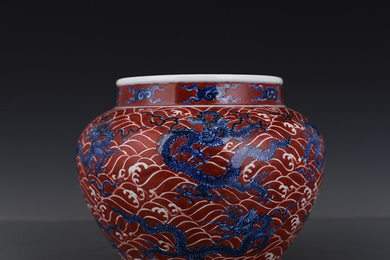 Chinese Ming Dynasty Period Porcelain Jar - 9