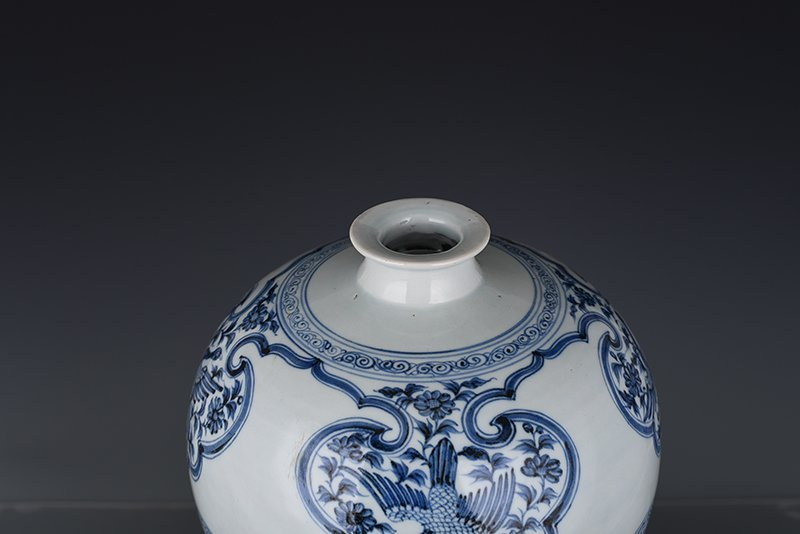 Chinese Yuan Dynasty Period Porcelain Vase - 10