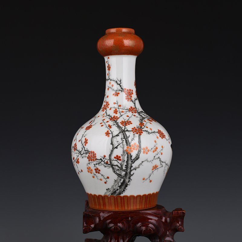 Chinese Qing Dynasty Period Porcelain Vase