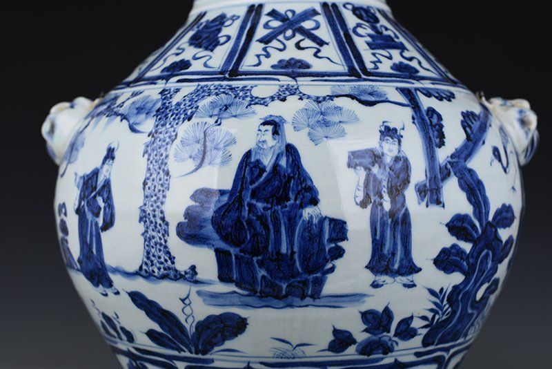 Chinese Yuan  Dynasty Period Porcelain Vase - 2