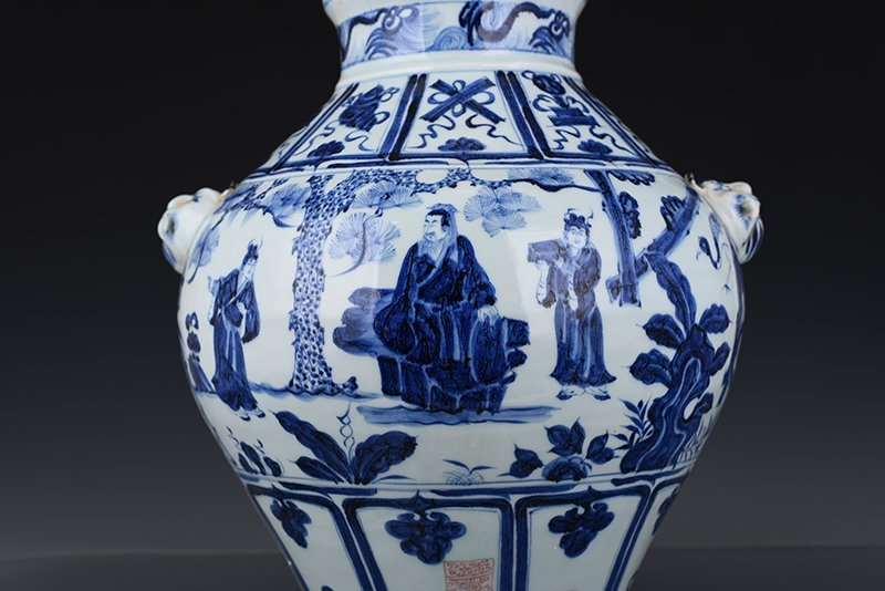 Chinese Yuan  Dynasty Period Porcelain Vase - 3