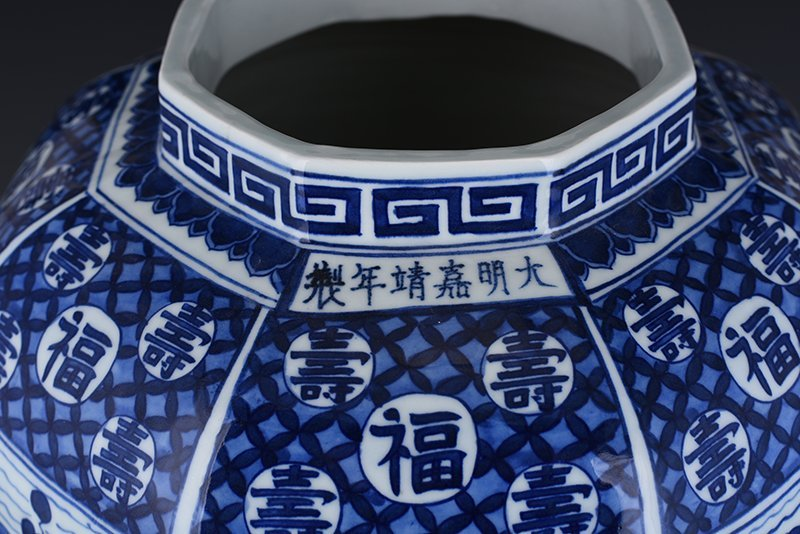 Chinese Ming  Dynasty Period Porcelain Vase - 10