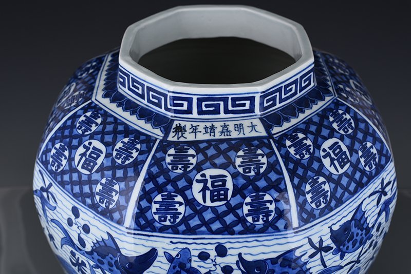 Chinese Ming  Dynasty Period Porcelain Vase - 9